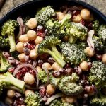 Broccoli Chickpea Salad